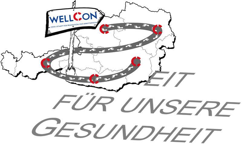 Logo BGF bei Wellcon